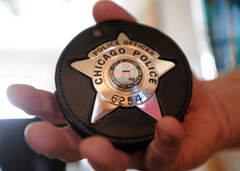 cpd star 6254 Chicago Police