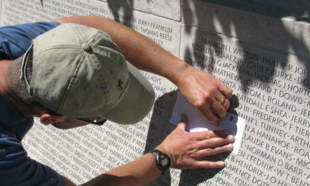 My Search for Panel 61 W: 10 at the National Law Enforcement Officers Memorial in Washington, D.C. Charles W. Mathews