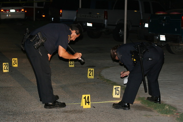 crime scene shooting
