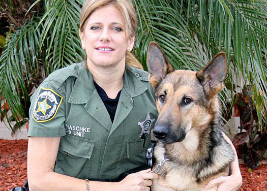 Changing of the K9 Guard