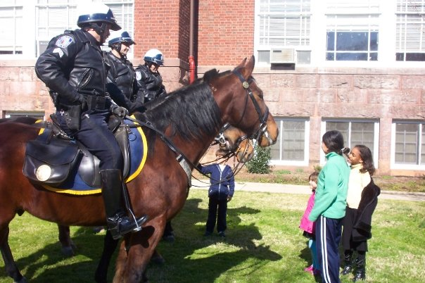 Community policing on horseback