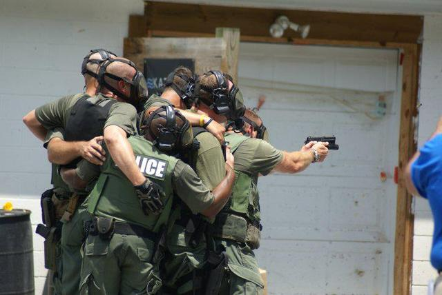 What's It Like Being Married to a SWAT Officer?