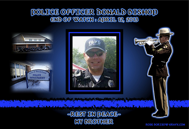 RIP Officer Donald Bishop