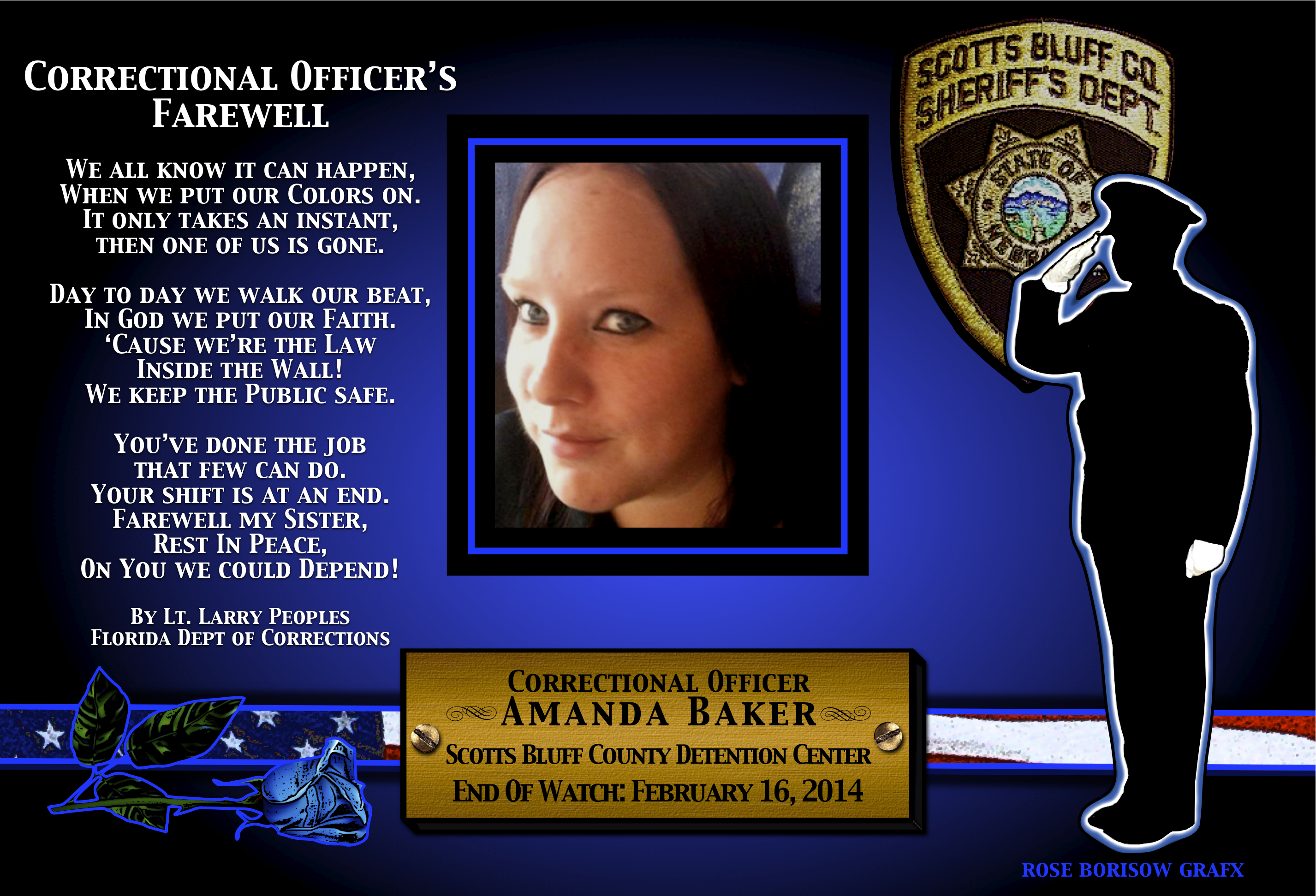 Fallen Officer-Corrections-Baker-Scott's Bluff