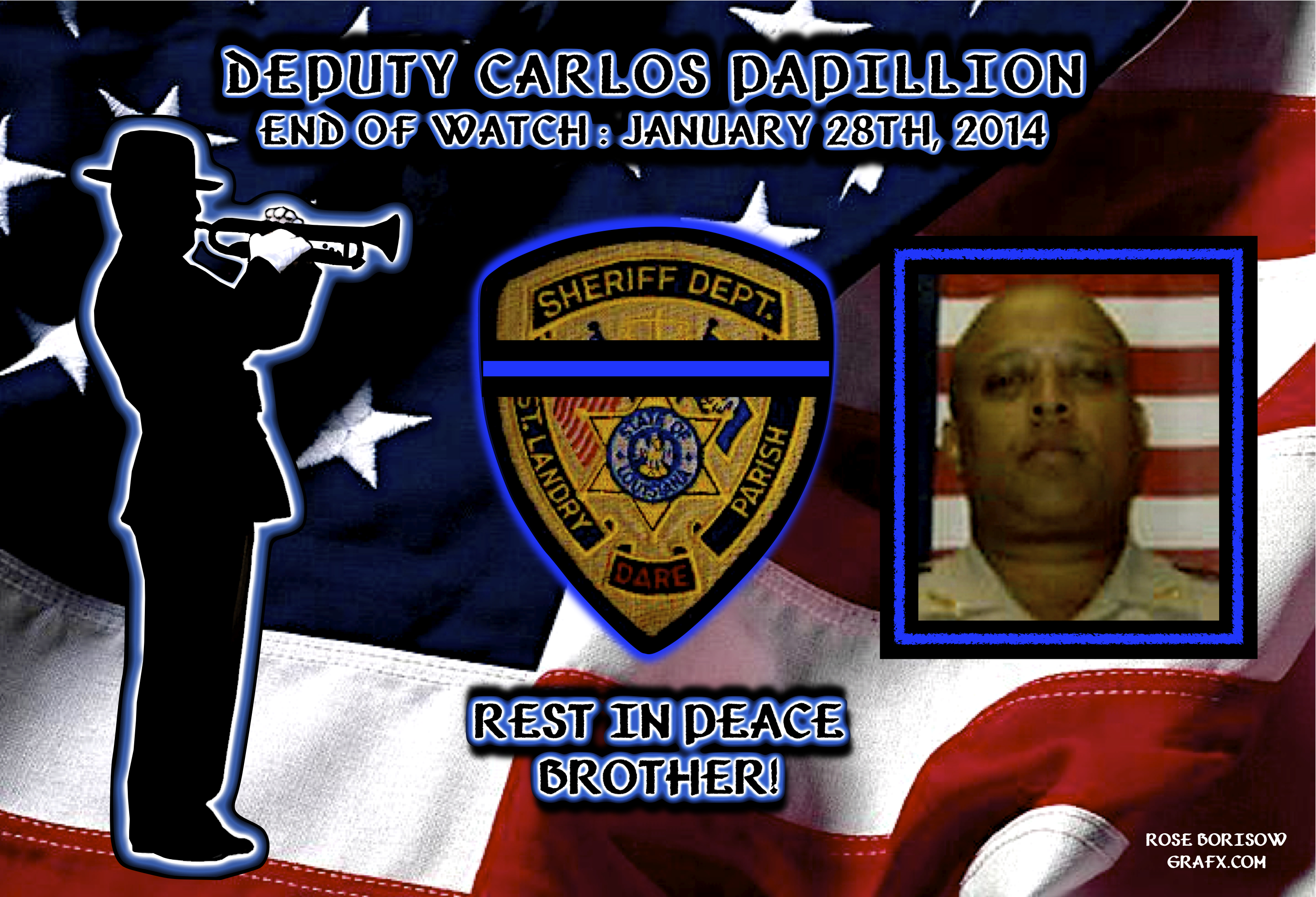 Fallen Officer-Papillion-St. Landry Parish