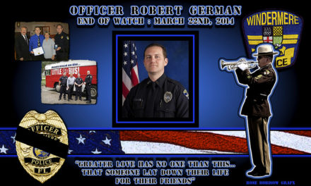 In Memoriam Officer Robert German