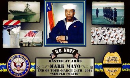 IN MEMORIAM – PETTY OFFICER MARK MAYO, MASTER AT ARMS, U.S. NAVY