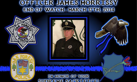 In Memoriam – Officer James Morrissy