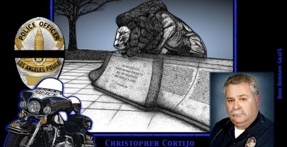 In Memoriam - Officer Chris Cortijo