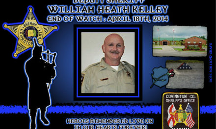 In Memoriam – Deputy William Kelley