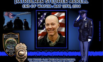 In Memoriam – Officer Stephen Arkell