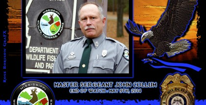 Fallen 2014-Collum-Mississippi Dept Wildlife