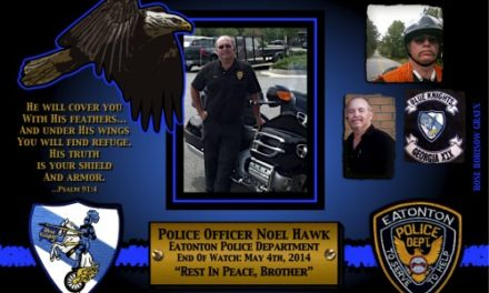 In Memoriam – Officer Noel Hawk