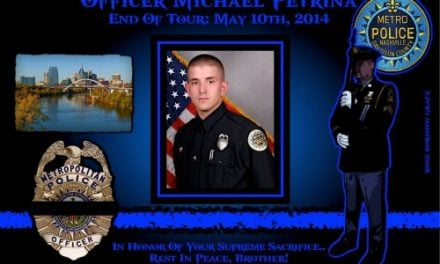 IN MEMORIAM – OFFICER MICHAEL PETRINA