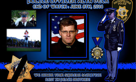In Memoriam: Officer Alyn Beck