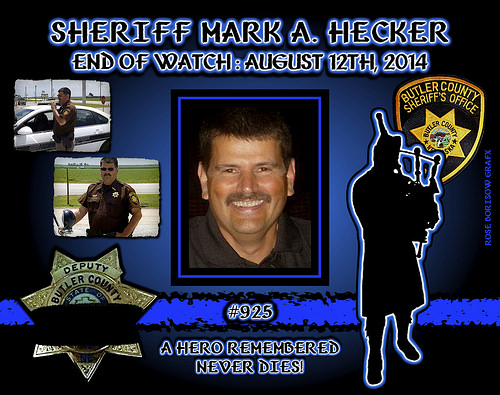 In Memoriam: Sheriff Mark Hecker