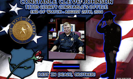 """In Memoriam:  Constable Cleveland """"Cleve"""" Johnson"""