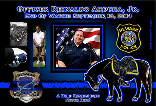 In Memoriam:  Officer Reinaldo Arocha Jr.