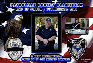 In Memoriam: Officer Robert Blajszczak