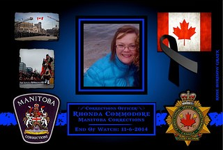 In Memoriam- Corrections Officer Rhonda Commodore 2