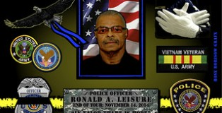 In Memoriam- Officer Ronald A. Leisure 2