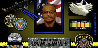 IN MEMORIAM:  OFFICER RONALD A. LEISURE