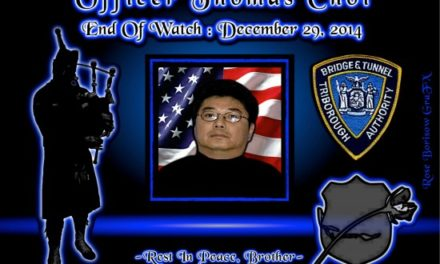 In Memoriam: Officer Thomas Choi