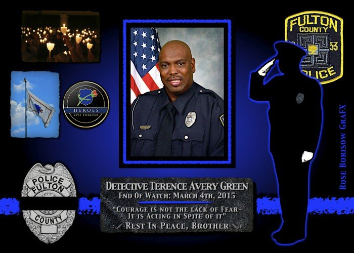 In Memoriam: Detective Terence Avery Green