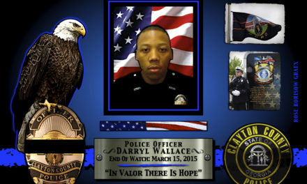 In Memoriam: Officer Darryl Wallace