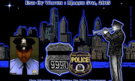 In Memoriam: Officer Robert Wilson III