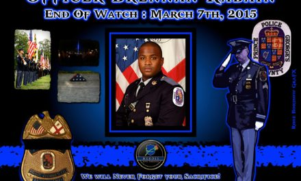 In Memoriam: Officer Brennan Rabain