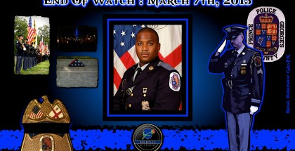 In Memoriam-  Officer Brennan Rabain
