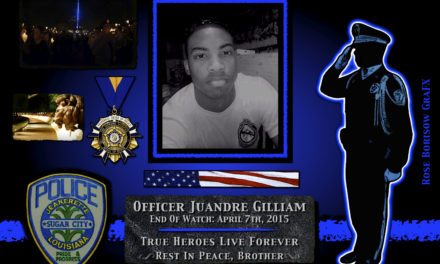 In Memoriam: Officer Juandre Gilliam
