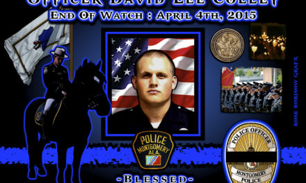 In Memoriam: Officer David Colley