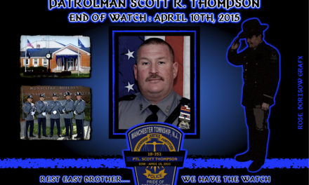 In Memoriam: Patrolman Scott R. Thompson