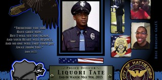 In Memoriam: Officer Liquori Tate