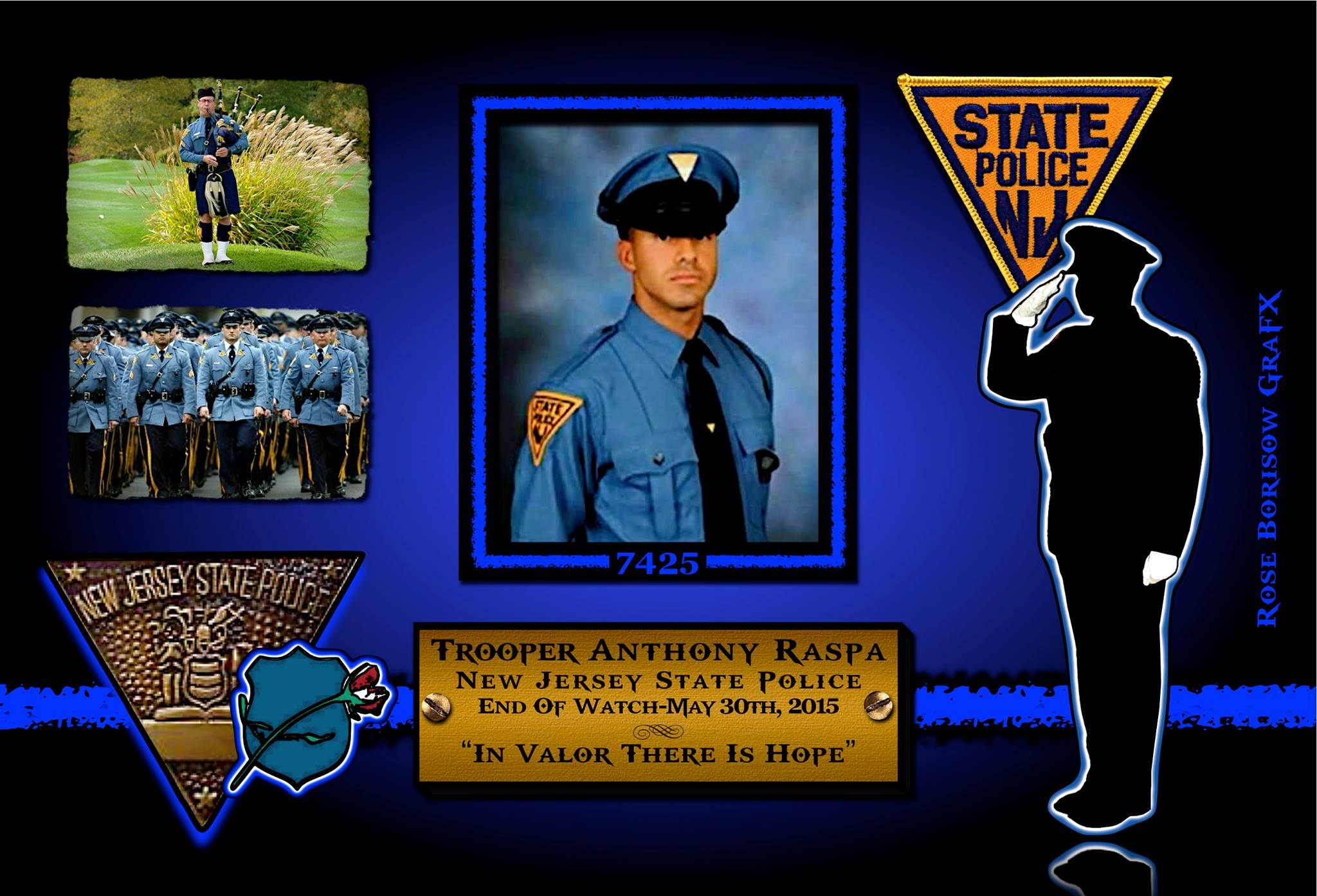 In Memoriam: Trooper Anthony Raspa