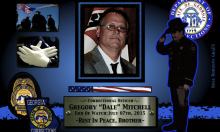 In Memoriam: Corrections Officer Gregory Mitchell
