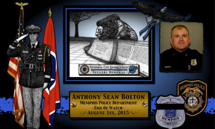 In Memoriam: Officer Anthony Sean Bolton