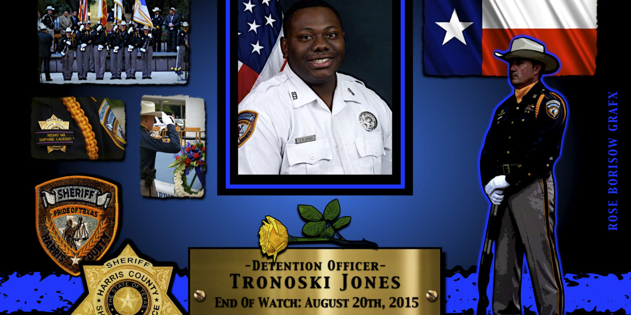 In Memoriam: Corrections Officer Tronoski Jones