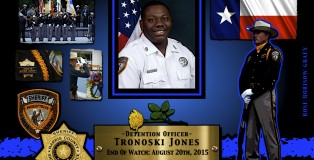 Fallen 2015-JONES-Harris County SO-TX