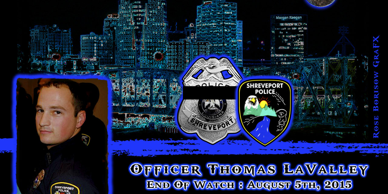 In Memoriam: Officer Thomas LaValley