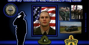 Fallen 2015-YOUNG-Vermont STate Police-VT