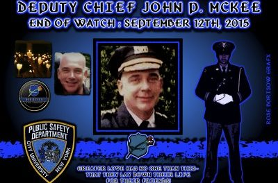 In Memoriam:  Deputy Chief John McKee