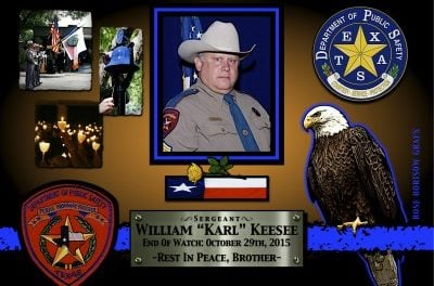 "In Memoriam: Sergeant William ""Karl"" Keesee"