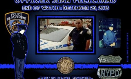 In Memoriam: Officer Juan Feliciano