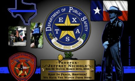 In Memoriam:  Trooper Jeffrey Nichols