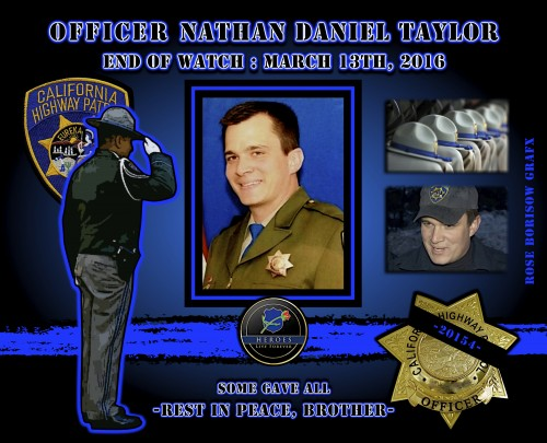 In Memoriam: Officer Nathan Taylor