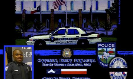 In Memoriam: Officer Endy Ekpanya