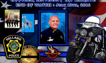 In Memoriam: Officer Anthony Zarate